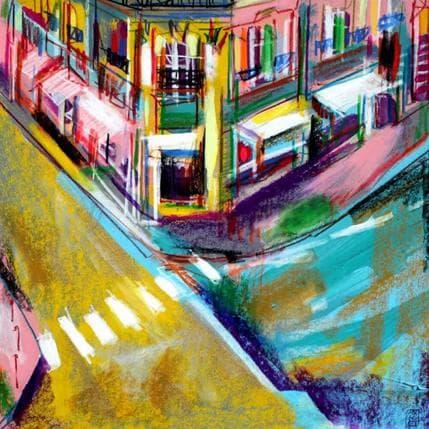 Olivier Anicet Tourne la ville 36 x 36 cm