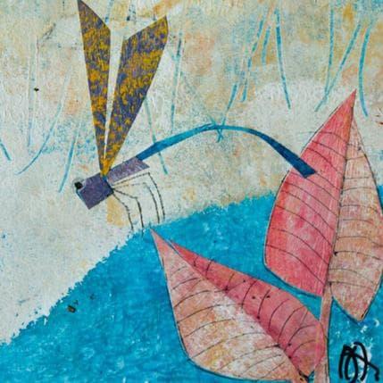 Arias Parera Libelula lila 13 x 13 cm