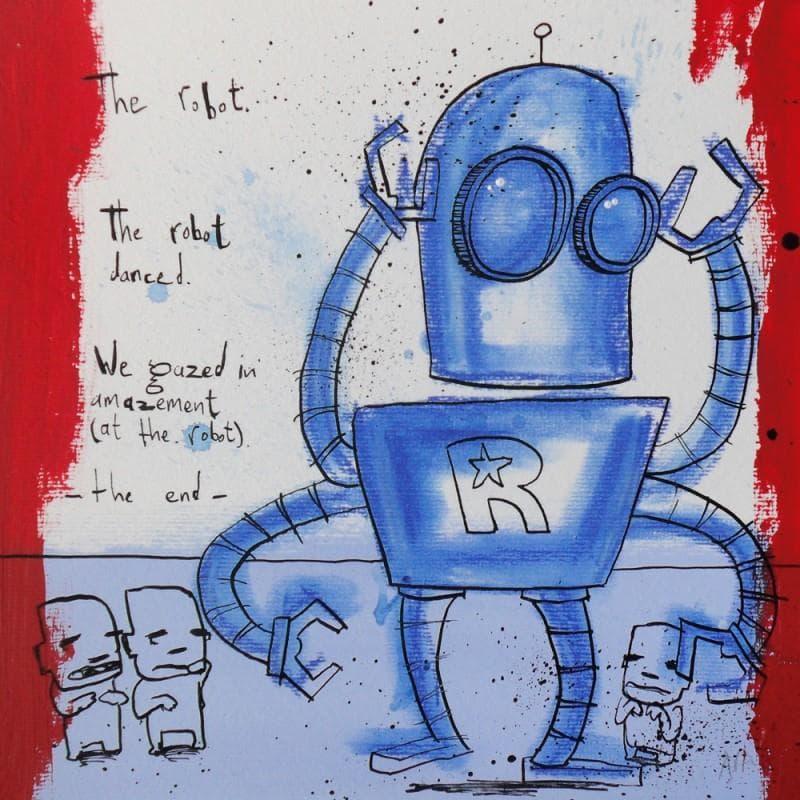 The robot danced
