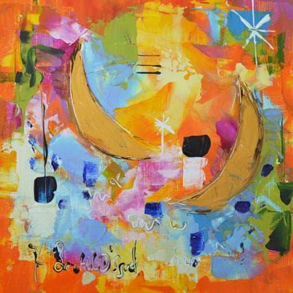 Armelle Bastide d'Izard Sous les lunes 25 x 25 cm
