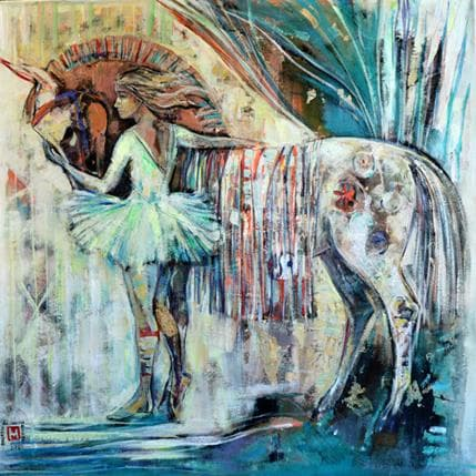 De Secondigné My lovely horse 80 x 80 cm