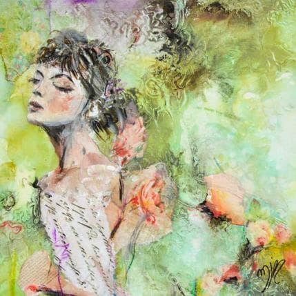 Marie-Josée Bergeron Les mots romantiques 13 x 13 cm