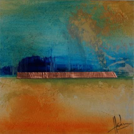 Christian Hévin Abstraction #6874 13 x 13 cm