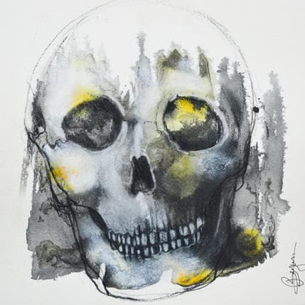 Laurent Bergues Vanité 25 x 25 cm