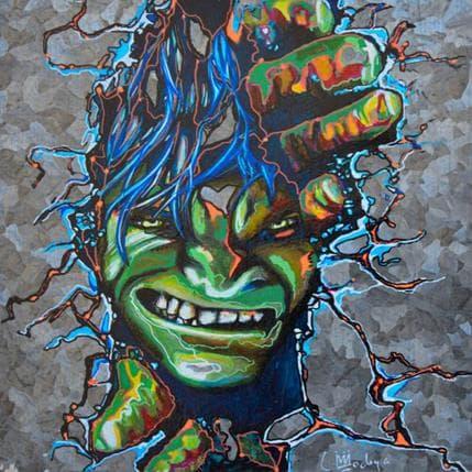 Medeya Lemdiya Hulk ne restera pas confiné 19 x 19 cm