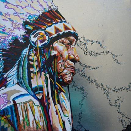 Medeya Lemdiya American spirit 36 x 36 cm