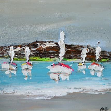 Shahine Les îles 36 x 36 cm