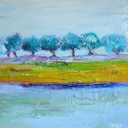 Shahine Douceur d'hiver 36 x 36 cm