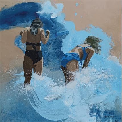 Sand Splash féminin 13 x 13 cm