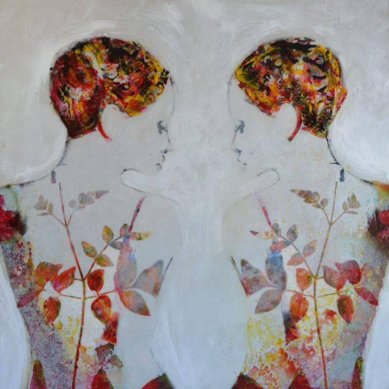 Dos de espaldas