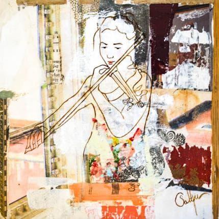 Sablyne Voix de violon 25 x 25 cm