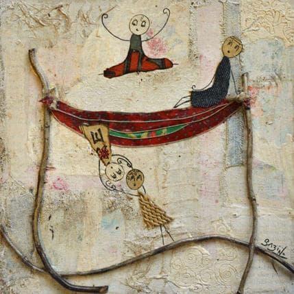 Sabine Bourdet Hamac 19 x 19 cm
