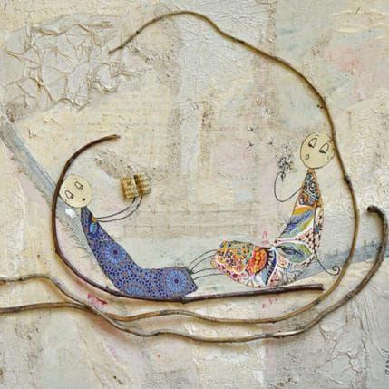 Sabine Bourdet Relax 25 x 25 cm