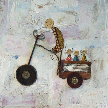 Sabine Bourdet En balade 25 x 25 cm