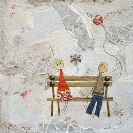 Sabine Bourdet Amoureux 25 x 25 cm