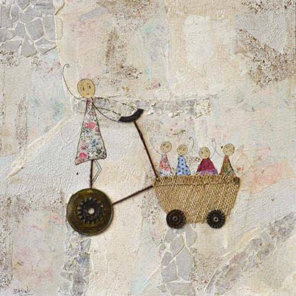Sabine Bourdet Promenade 36 x 36 cm