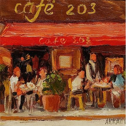 Arkady Café 203 13 x 13 cm