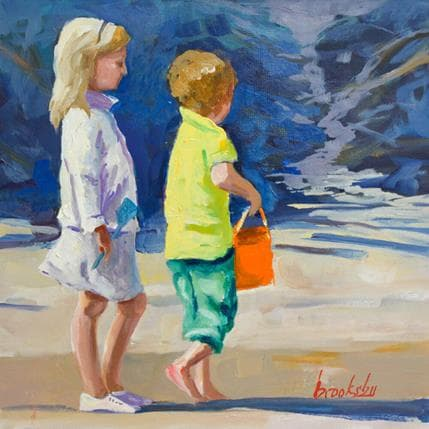 Brooksby Brother and sister 19 x 19 cm