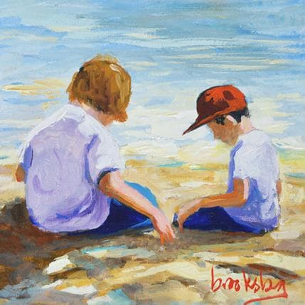 Brooksby Beach games 13 x 13 cm