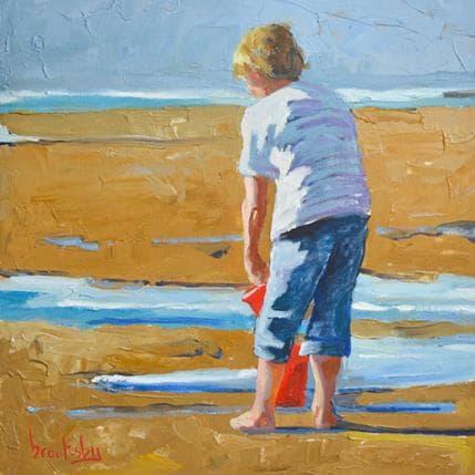 Brooksby Beach fun 19 x 19 cm