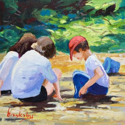 Brooksby At the park 13 x 13 cm