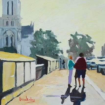 Brooksby Matin à Notre Dame 19 x 19 cm