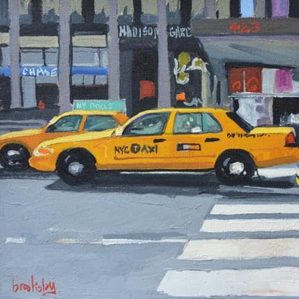 Brooksby Taxi Madison Suqare Garden 25 x 25 cm