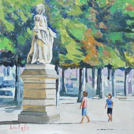 Brooksby Deux gars et une reine 36 x 36 cm