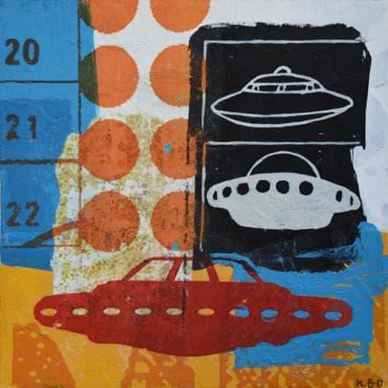 Kano Okuuchi UFO 19 x 19 cm