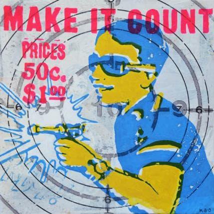 Kano Okuuchi Make it count 25 x 25 cm