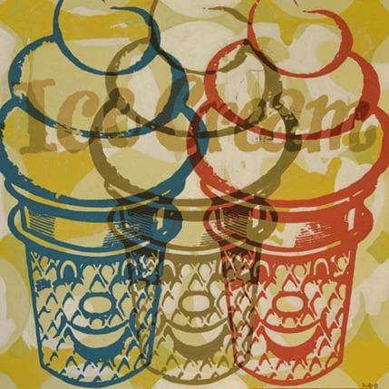 Kano Okuuchi Ice cream 3 36 x 36 cm