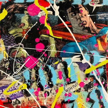 David Drioton HEROES N°65 13 x 13 cm