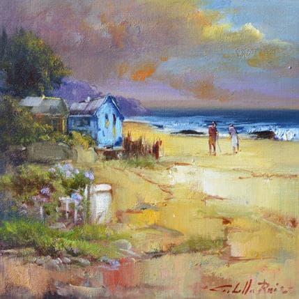 Jose Cabello Ruiz Caminando hacia la playa 19 x 19 cm