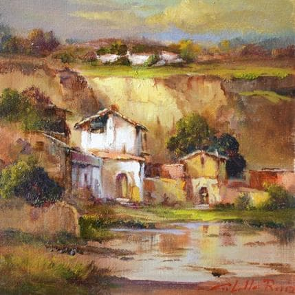 Jose Cabello Ruiz Casas en el tajo 19 x 19 cm