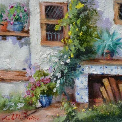 Jose Cabello Ruiz Rincon del patio 13 x 13 cm