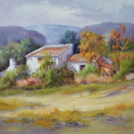 Jose Cabello Ruiz Casa de pastor 36 x 36 cm
