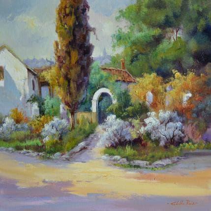 Jose Cabello Ruiz Casa de toledo 50 x 50 cm