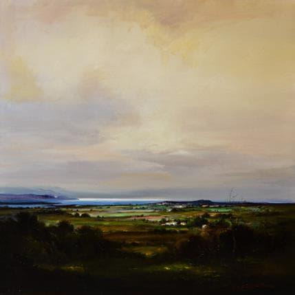 Jose Cabello Ruiz Costas de cantabria 100 x 100 cm