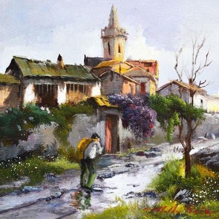 Jose Cabello Ruiz Despues de la lluvia 19 x 19 cm