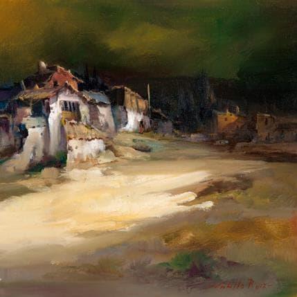 Jose Cabello Ruiz Tarde de tormenta 36 x 36 cm