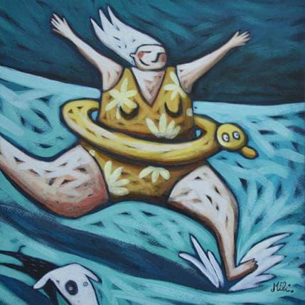 Mélina Catoni Splash 25 x 25 cm