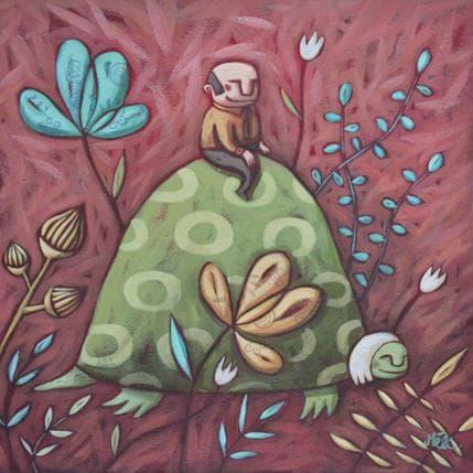 Mélina Catoni Slow life 25 x 25 cm