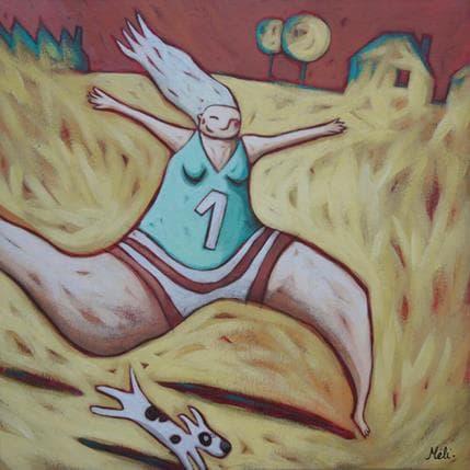 Mélina Catoni Run 36 x 36 cm