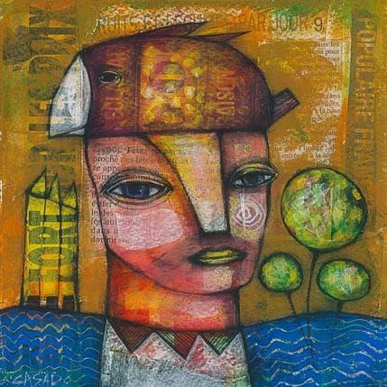 Dan Casado By the Sea 19 x 19 cm