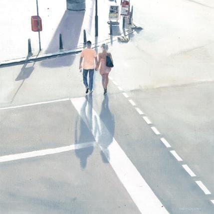 Sergi Castignani Promenade 1 36 x 36 cm