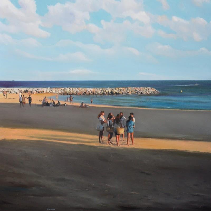 Gossip à la plage