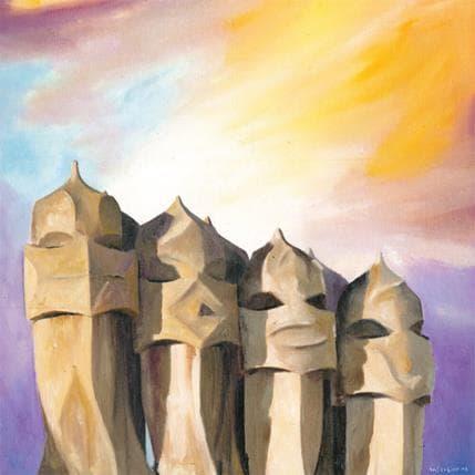 Sergi Castignani Magic gaudi 1 36 x 36 cm