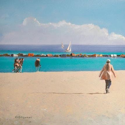 Sergi Castignani Rivage 03 25 x 25 cm