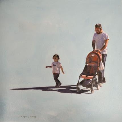 Sergi Castignani Plein soleil 01 36 x 36 cm