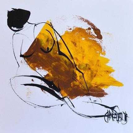 Martine Chaperon Sunflower 1 19 x 19 cm